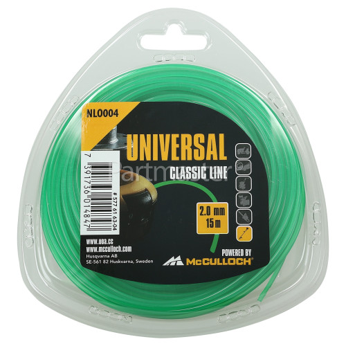 Universal Powered By McCulloch NLO004 Round Nylon Line
