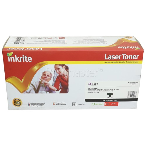 Inkrite Remanufactured Samsung 1610 Black Toner Cartridge