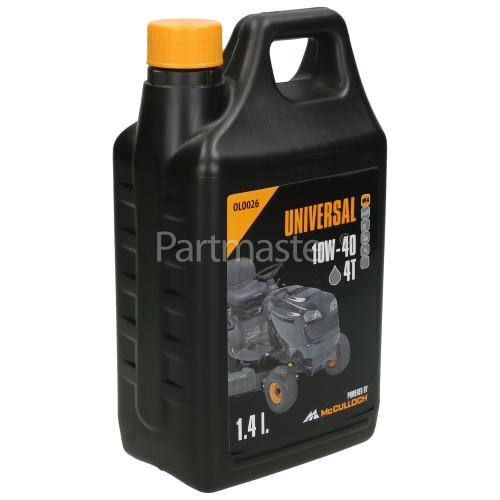 Universal Powered By McCulloch OLO026 4 Stroke Oil - 1.4 Litre