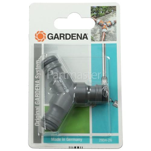 Gardena 3-Way Y Coupling