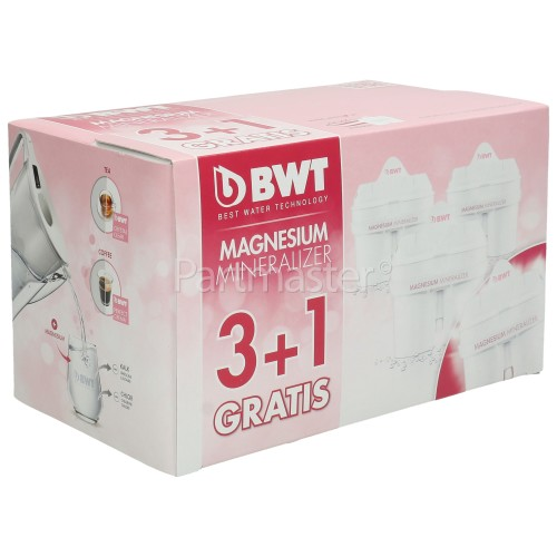 BWT Longlife MG2+ Filter Cartridge (Pack Of 4)