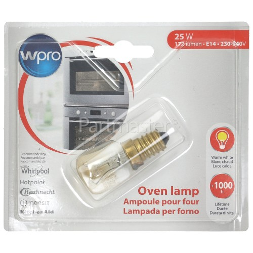 Bauknecht 25W T25 SES (E14) 300º Pygmy Oven Lamp