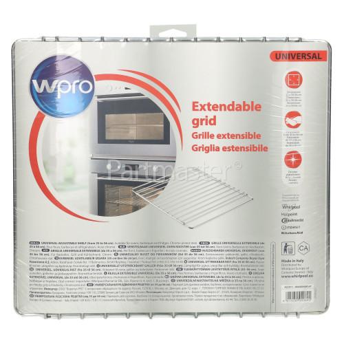 Wpro Universal Adjustable Oven Shelf : 350mm To 560mm