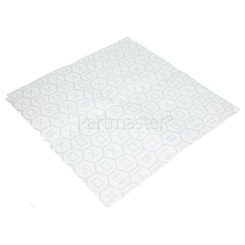 Wpro UGF005 Cooker Hood Foam Grease Filter (470 X 970mm)