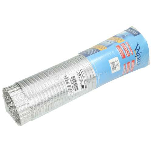 Wpro Cooker Hood Aluminium Duct / Vent Hose - 1. 5M