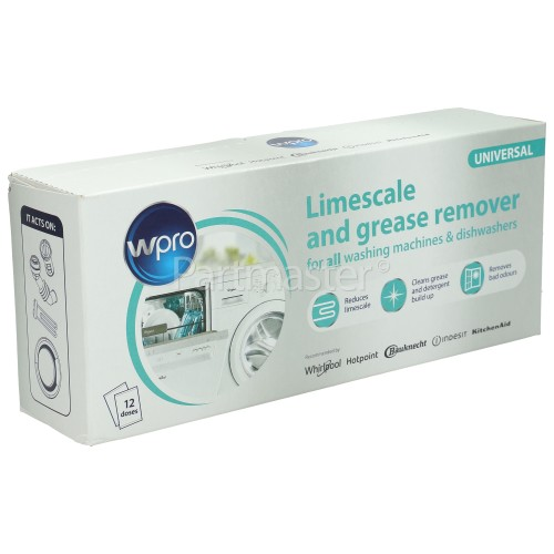 Hotpoint Limescale And Grease Remover (Pack Of 12)