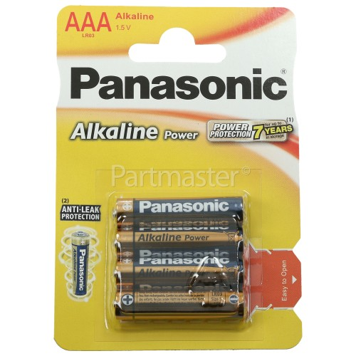 Panasonic AAA Alkaline Power Batteries
