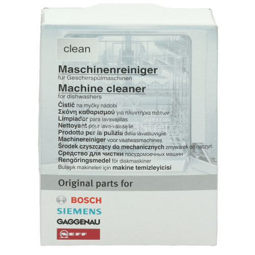Bosch Neff Siemens Dishwasher Maintenance Cleaning Powder