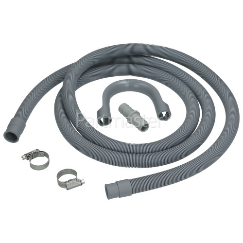 Samsung Universal Washing Machine & Dishwasher 2.5M Waste Drain Extension With Straight 19mm / 22mm Ends Kit