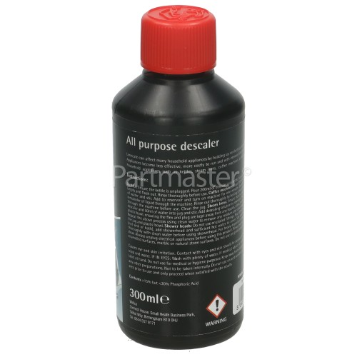 Wellco Professional Liquid Appliance Descaler : 300ML For Kettles Irons Coffeemakers Etc.