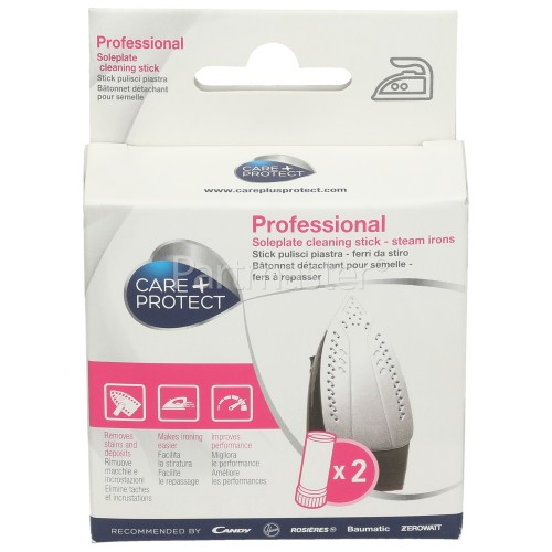 Care+Protect Universal Professional Iron Cleaning Stick (Pack Of 2) (Garment Care )