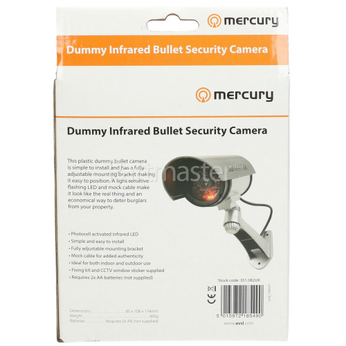 Dummy Infrared Bullet Security Camera