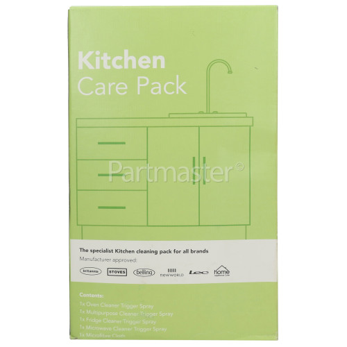 Stoves Belling New World Lec 5 Piece Kitchen Care Pack