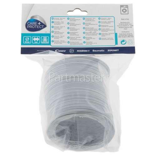 "Care+Protect Universal 2.5m Tumble Dryer Vent Hose (4"" Dia)"