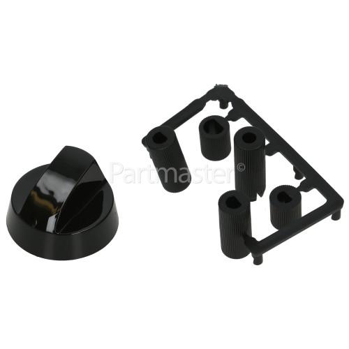 Arctic AM5512DL Universal Multifit Cooker Control Knob - Black