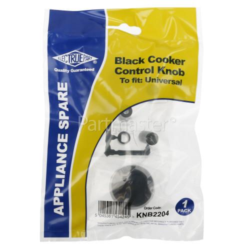 Algor AKL471/WH Universal Multifit Cooker Control Knob - Black