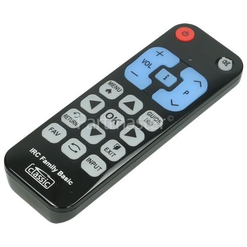 Black Diamond Compatible Basic Function TV Remote Control