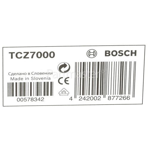 Bosch Tassimo Caddy 16 T-Disc Capsule Holder