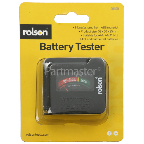 Rolson Universal Battery Tester