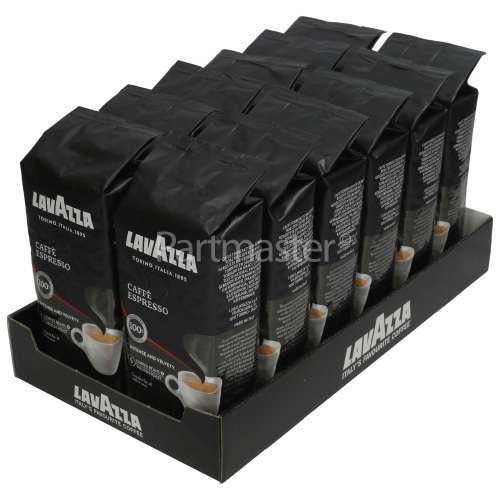 Lavazza Caffè Espresso Coffee Beans - 250g (Pack Of 12)