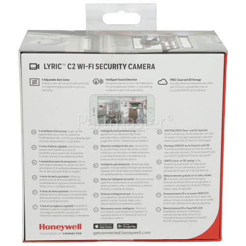 Honeywell Lyric™ C2 Wi-Fi Security Camera