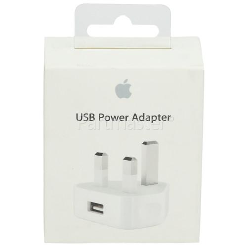 Apple 5W USB Power Adapter For IPhone/iPod - UK Plug