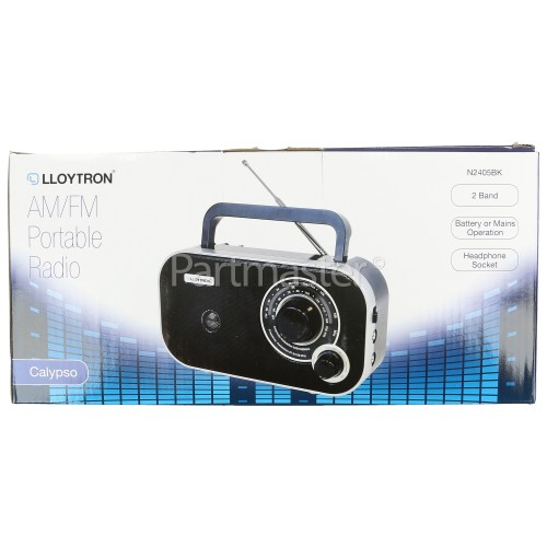 Lloytron Calypso 2 Band AM/FM Portable Radio
