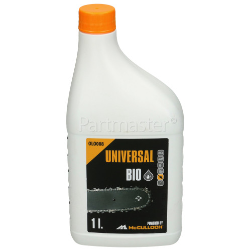 Universal Powered By McCulloch OLO008 Chain Oil (Bio) - 1 Litre