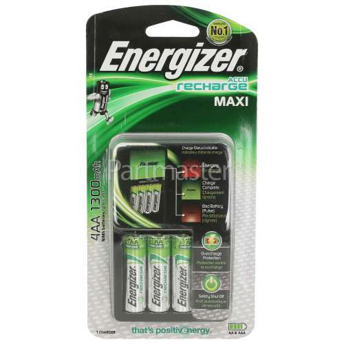 Energizer AccuRecharge Maxi Battery Charger