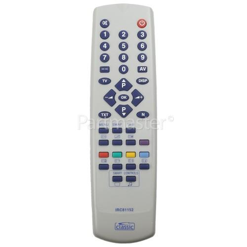 Clatronic 850201 MT1297 Compatible TV Remote Control ( IRC81152 ) = =COM3918, MT1297