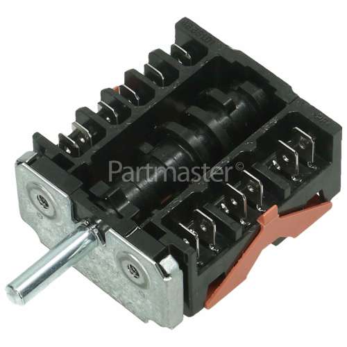 Whirlpool Function Selector Switch 7 Position-hot Plate Ring Element Ego 46.27266.817