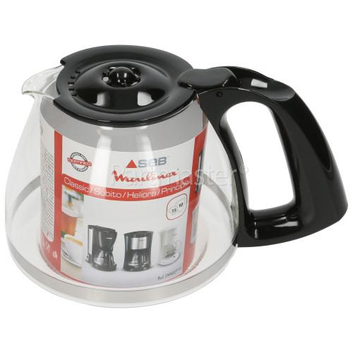 Arno Glass Coffee Pot Assembly - Black