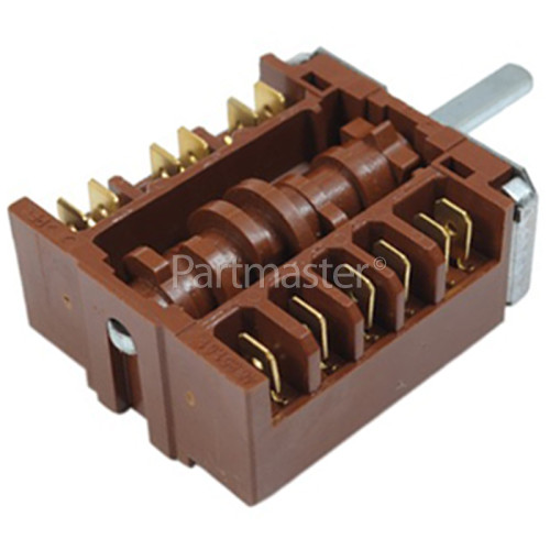 Amica Hotplate Function Selector Switch EGO 46.27266.500 (0+6)