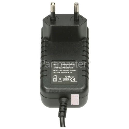 Bosch Compatible Bosch Siemens Athlet Mains Lead Cable - European Plug : PSE5012B Input 100-240V Output DC 22V 0.5A