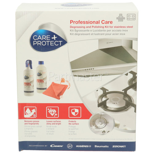 Care+Protect Stainless Steel Polishing And Degreasing Kit (ApplianceCare & Cleaning )
