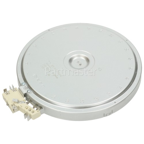 Bosch Neff Siemens Ceramic Dual Hotplate Element : EGO 10.53213.494 2400W / 1500W