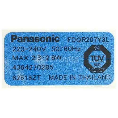 Beko Fan Motor Panasonic FDQR2074Y3L