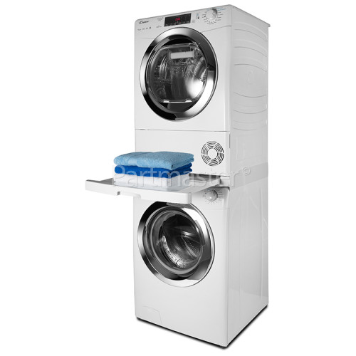 ITD Universal Washing Machine & Tumble Dryer Stacking Kit With Sliding Shelf