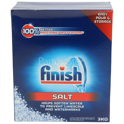 Finish 9BRVW6001A Dishwasher Salt - 3Kg
