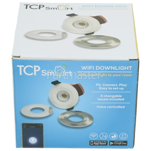 TCP Smart WiFi IP65 8W LED Downlight