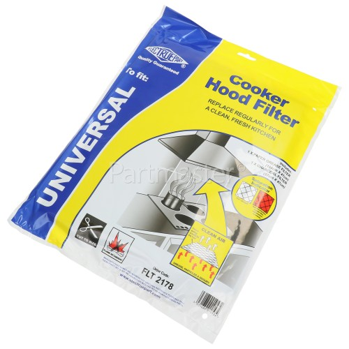 Firenzi FTH630SS Cooker Hood Grease Paper & Carbon Filter Kit