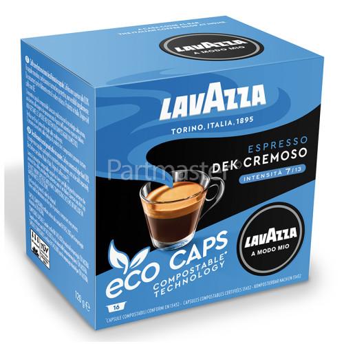 Lavazza Dek Cremoso Compostable Capsules (Box Of 16 Capsules)