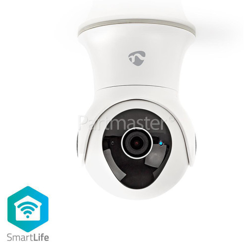 Nedis Smart WiFi Outdoor Pan & Tilt 1080P IP Camera