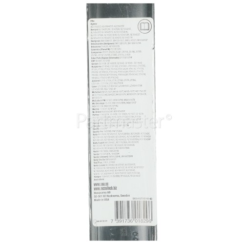 """Jonsered MBO043 107cm (42"""") Metal Standard Tractor Blade - Pack Of 2"""
