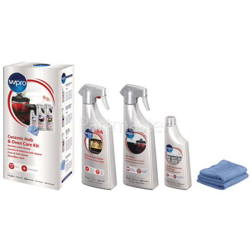 Wpro Ceramic / Induction / Glass Hob / Oven Cleaning Care Kit