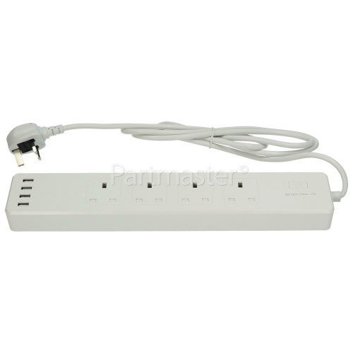 TCP Smart WiFi 4-Socket Extension Lead - UK Plug