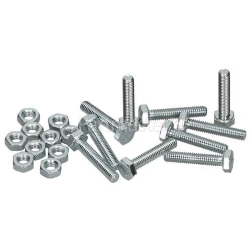 Nut / Bolt Set - Element (Pack Of 10)