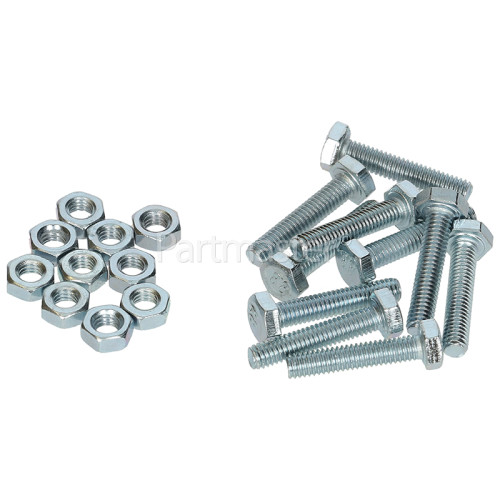 Nut / Bolt Set - Element (Pack Of 10)