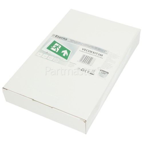 Eterna 4W Compact Emergency LED Exit Box