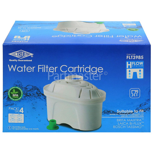 Balay Compatible Brita Maxtra Water Filter Cartridge - Pack Of 4